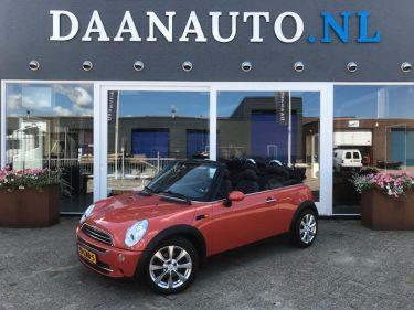 Mini 1.6 Cabrio DAANAUTO.NL kopen heemskerk