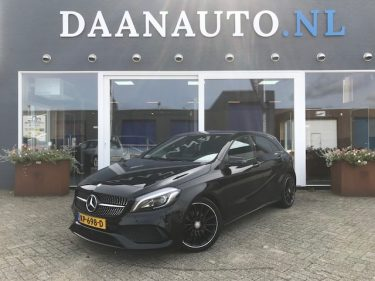 Privé Lease MB A160 AMG NIGHT EDITION PLUS 502PM DAANAUTO.NL kopen heemskerk amsterdam