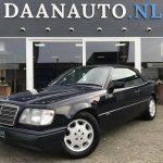 Mercedes-Benz E320 Cabriolet W124 Collectors Item Origineel NL te koop DAANAUTO.NL heemskerk amsterdam