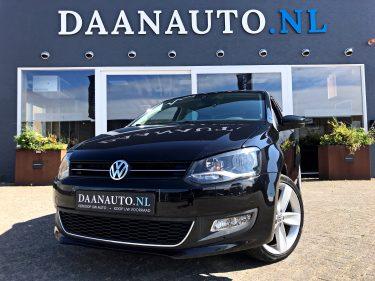 Volkswagen Polo 1.4 Highline | DSG | Exclusief Interieur | Stoelverwarming Daanauto Daanauto.nl te koop kopen zwart