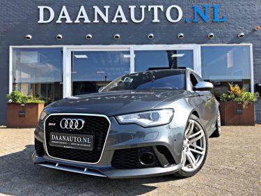 Audi RS6 4.0 V8 TFSI quattro Pro Line Plus 710 PK 900 Nm | Keramische Remschijven | Elektr. Verst. Verwarm. & Venti. Massage Stoelen met Geheugen | Alarm Klasse 5 Daanauto Daanauto.nl kopen te koop