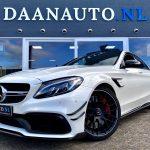 Mercedes-Benz C63s c63 s AMG Edition 1 te koop kopen carbon wit sedan 510 pk full options Amsterdam daan auto Daanauto