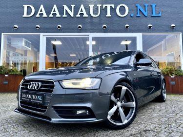 Audi A4 Avant 2.0 TFSI quattro Pro Line Facelift 2x S-Line grijs zwart te koop kopen Amsterdam heemskerk occasion Daan auto daanauto