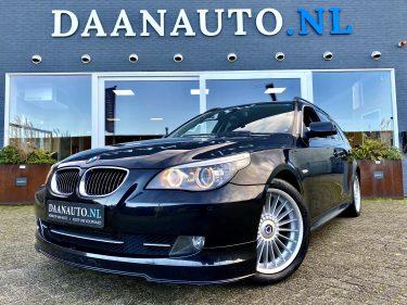 BMW 525i Touring Alpina B5 te koop kopen zwart donkerblauw heemskerk Amsterdam occasion Daanauto daan auto