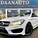 Mercedes-Benz cla 180 CLA200 AMG zwart wit te koop kopen heemskerk Amsterdam leder leer panoramadak