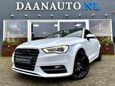 Audi A3 Sportback 1.4 TFSI Ambition Pro Line Plus 2x S-Line wit 3deurs kopen te koop Amsterdam heemskerk occasion Daanauto daan auto