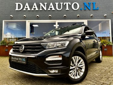 Volkswagen T-Roc Style benzine te koop kopen occasion zwart tweedehands goedkoop Amsterdam Heemskerk Daanauto Daan auto