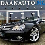 Mercedes-Benz SL 350 sl klasse cabrio cabriolet te koop kopen occasion heemskerk Amsterdam Daanauto Daan auto zwart donkerblauw