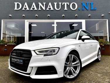 Audi A3 Limousine sedan Sport Pro Line S line wit te koop kopen heemskerk Amsterdam beverwijk digital virtual cockpit