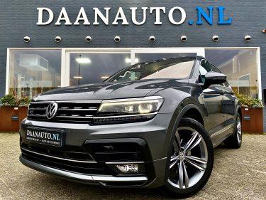Volkswagen Tiguan R-Line Highline grijs te koop kopen Amsterdam heemskerk occasion Daanauto Daan auto luxe trekhaak