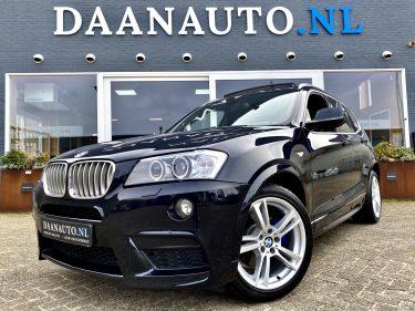 BMW X3 xDrive 35i High Executive M-Performance m sport zwart donkerblauw te koop kopen Amsterdam suv m pakket