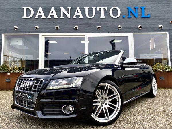 Audi A5 S5 RS5 Cabriolet ABT 3.0 V6 TFSI quattro S line zwart blauw kopen te koop Amsterdam heemskerk Daan auto Daanauto beverwijk A4 S4