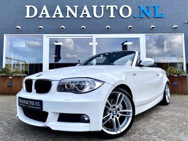 BMW 118i 118 Cabriolet High Executive M Sport wit te koop kopen cabrio m pakket 120 Amsterdam beverwijk heemskerk Daanauto daan auto