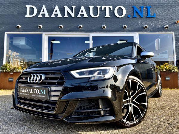 Audi a3 rs3 S3 Sportback TFSI quattro Pro Line Plus Facelift virtual digitale cockpit zwart kopen te koop Amsterdam