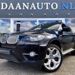 BMW X6 xDrive50i High Executive 4.4 v8 zwart full option kopen te koop Amsterdam beverwijk