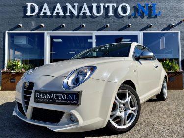 Alfa Romeo Mito 1.4 T Centenario wit ivoor te koop kopen leder 135 pk heemskerk beverwijk Amsterdam