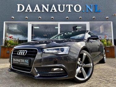 Audi A5 Sportback 1.8 TFSI Pro Line s line zwart grijs benzine te koop kopen Amsterdam heemskerk beverwijk
