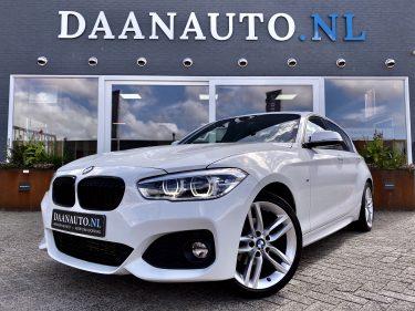 BMW 118i High Executive M-Sport Facelift 1 serie wit te koop kopen 5 deurs