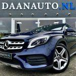 Mercedes-Benz GLA180 AMG Facelift Zwart blauw gla