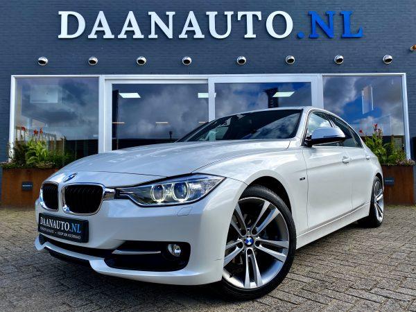 BMW 320i m Sport wit sedan leer leder occasion te koop kopen heemskerk Amsterdam beverwijk