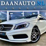 Mercedes-Benz A180 Ambition AMG Night wit a klasse diamond origineel Nederlands te koop kopen heemskerk beverwijk