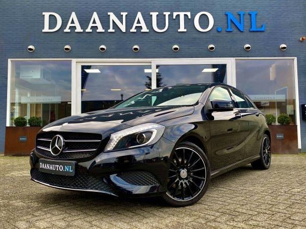 Mercedes-Benz A180 Ambition zwart a klasse te koop kopen occasion automaat heemskerk beverwijk