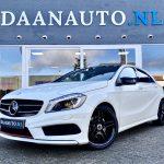 Mercedes-Benz A180 a klasse AMG Night pakket wit panoramadak pano te koop kopen occasion heemskerk beverwijk