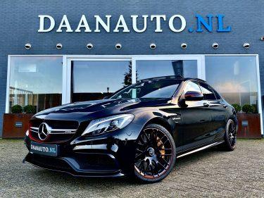 Mercedes-Benz C63 s c klasse AMG Edition 1 zwart driver package carbon keramisch designo te koop kopen Amsterdam