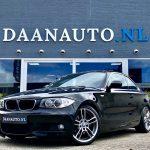 BMW 1 serie 6 cilinder 125i Coupé High Executive M-Sport zwart occasion te koop kopen Amsterdam heemskerk beverwijk