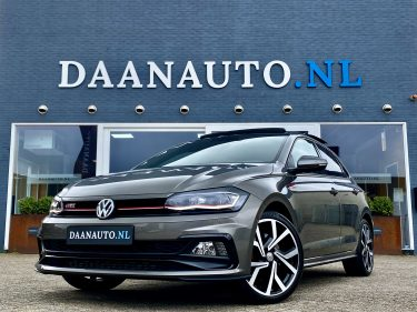 Volkswagen Polo 2.0 TSI GTI grijs 2020 virtual digital cockpit occasion te koop kopen