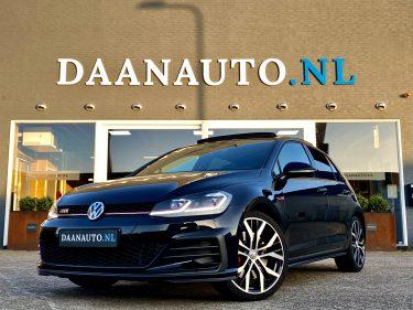 Volkswagen Golf 2.0 TSI GTI Performance panoramadak leer leder zwart occasion te koop kopen Amsterdam heemskerk beverwijk