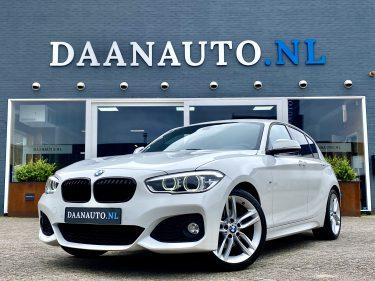BMW 1 serie 120i 4 cilinder M-Sport shadow LCI facelift wit occasion te koop kopen Amsterdam heemskerk beverwijk