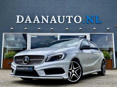Mercedes-Benz a klasse A180 AMG grijs zilver occasion te koop kopen Amsterdam heemskerk beverwijk