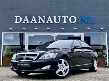 Mercedes-Benz S600 Lang s klasse v12 amg te koop kopen zwart Amsterdam haarlem Utrecht heemskerk beverwijk