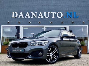 BMW 1 serie 120i High Executive M Sport pakket LCI facelift te koop kopen occasion grijs Amsterdam heemskerk Haarlem beverwijk Utrecht